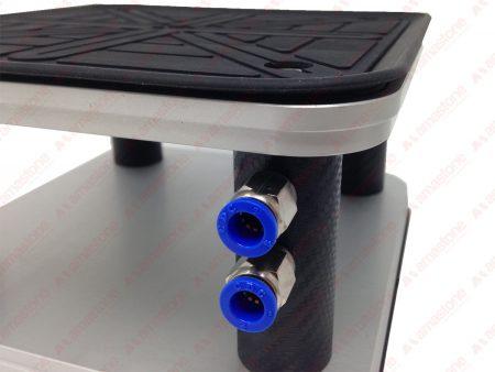 GNC - Square suction cup 200x200 mm with EPDM rubber lip ( bottom and top)