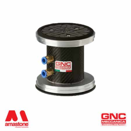 Round suction cup Ø130 mm with foam gasket - GNC