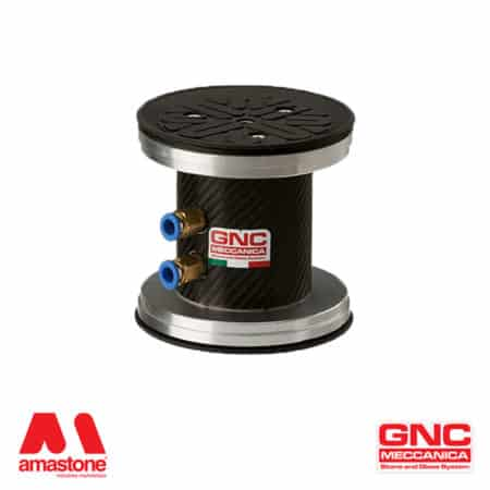 Round suction cup Ø130 mm with rubber lip - GNC