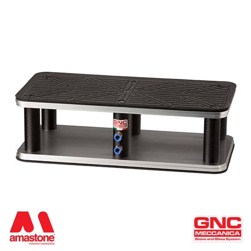 Rectangular suction cup 150x300 mm - Rubber Lip - GNC