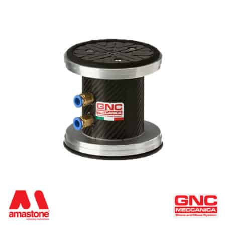 Round suction cup Ø110 mm - EPDM with foam gasket - GNC