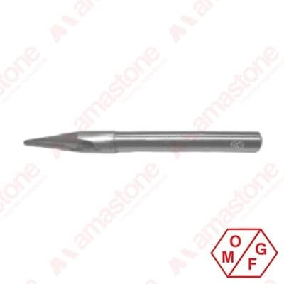 Engraving router bit - 14 mm cylindrical shank - Marble - OMGF