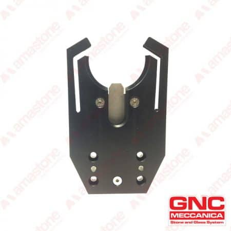GNC - Tool holder fork Intermac ISO 40 - Plate reinforced