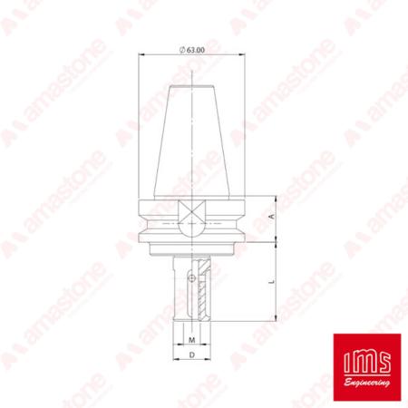 Tool Holder Cone For Grinding Wheel Bt 40 Denver Vem And Other
