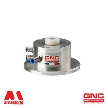Pneumatic Pin-Stop Locator backstop for CNC