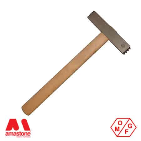 Steel bush hammer with two-heads – OMGF