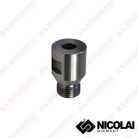 Nicolai - Adaptor 12 Gas Cylindrical shank 10 mm