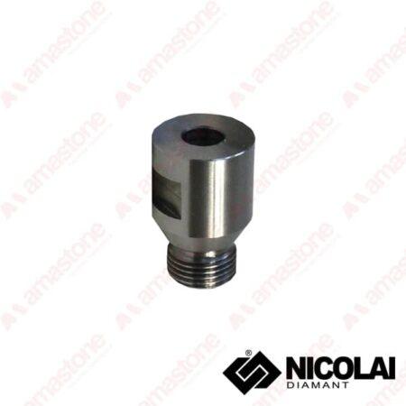 Nicolai - Adaptor 12 Gas Cylindrical shank 10 mm