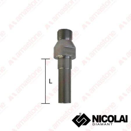 Adaptor 1/2 Gas > M10, M12, M14