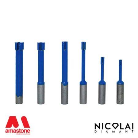 Blind hole drill bit for Granite, Engineered stone – Nicolai