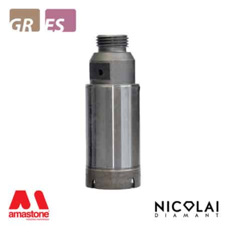 Continuous rim core bits – Granite, Engineered Stone – Nicolai