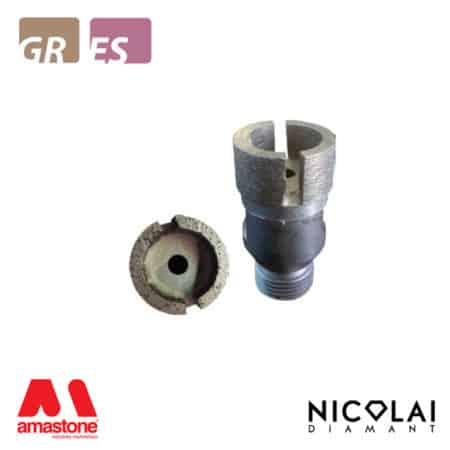 Incremental cutting finger bit tip Ø30 mm for Granite, Engineered stone – Nicolai