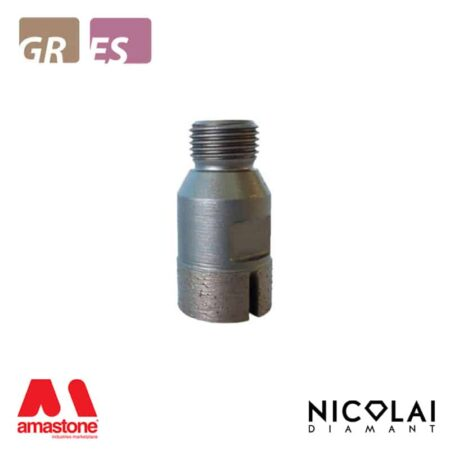 Incremental cutting finger bit tip for Granite, Engineered stone - Nicolai