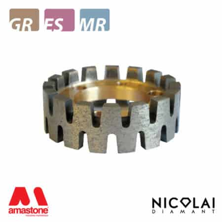 Stubbing wheel Turbo Crown – Granite – Nicolai