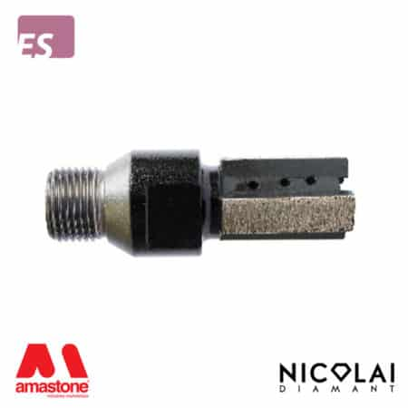 XXX Black finger bit - Engineered Stone - Nicolai