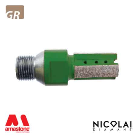 XXX Green finger bit - Granite - Nicolai