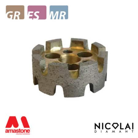 Stubbing wheel Turbo – Granite, Engineered stone and Marble - Nicolai