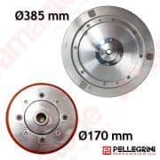 Aluminium guide wheel Ø 170 385 mm - Pellegrini Wire Saw