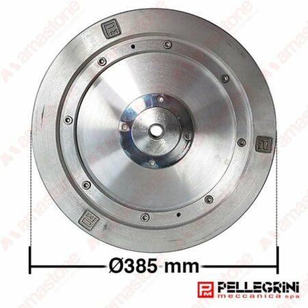 Aluminium guide wheel Ø 385 mm - Pellegrini Wire Saw