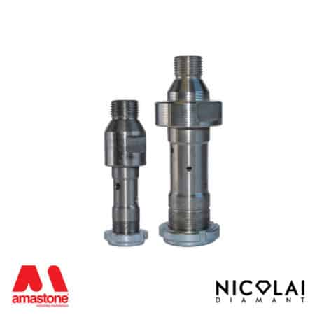 Adaptor 1/2 Gas > Thread for profile wheels - Nicolai