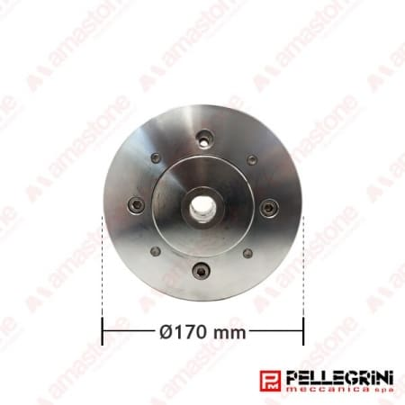 Aluminium guide wheel Ø170 mm for wire saw