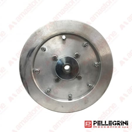 Aluminium guide wheel Ø300 mm for wire saw