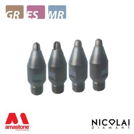 Drainboard metallic mills Ø15 mm – Nicolai