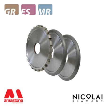 Drainboard metallic wheels Ø200 mm – Nicolai