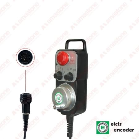 Low-Cost Portable Handwheel VP55 with connector - Elcis