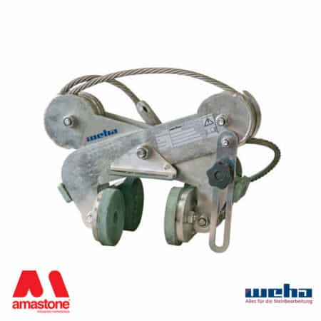 "Scissor lifting clamp ""Riba 1"" series – 500 Kg – Weha"