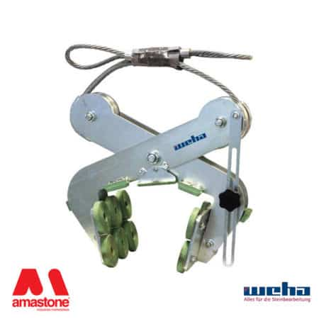 "Scissor lifting clamp ""Riba 3"" series – 1400 Kg – Weha"