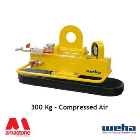 Vacuum lifter UNI PAD Compressed Air – 300 Kg – Weha