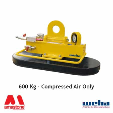 Vacuum lifter UNI PAD Compressed Air – 600 Kg – Weha