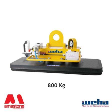 Vacuum lifter UNI PAD Compressed Air / Hand Pump – 800 Kg – Weha