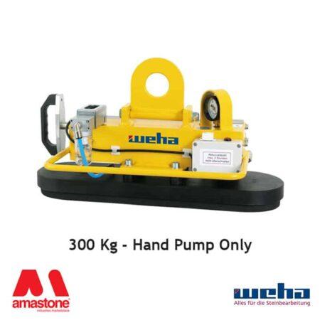 Vacuum lifter UNI PAD Hand Pump – 300 Kg – Weha