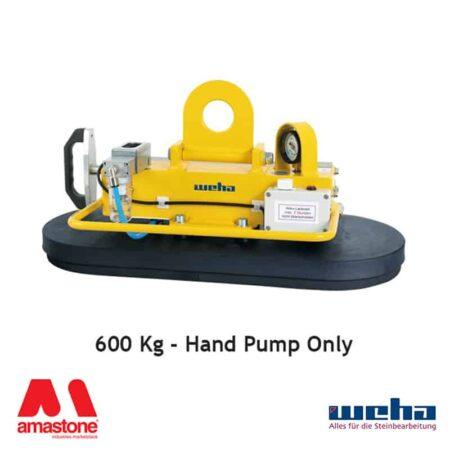 Vacuum lifter UNI PAD Hand Pump – 600 Kg – Weha