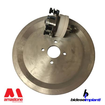 Bidese - Aluminum guide wheel Ø350 mm for wire saw