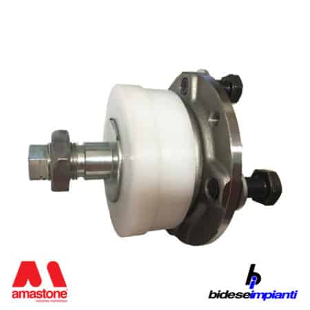 Hub for aluminium guide wheel 350 mm for wire saw Bidese-Breton