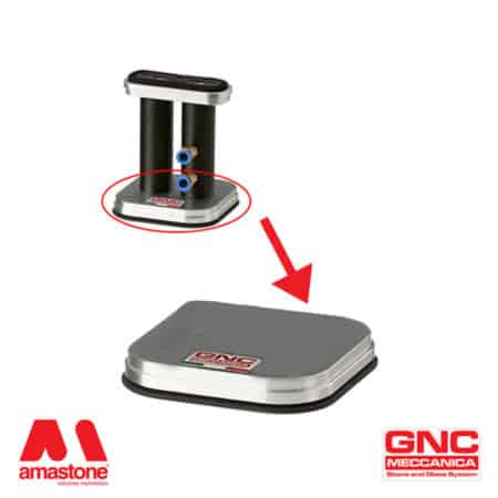Square bottom spare suction plate – GNC
