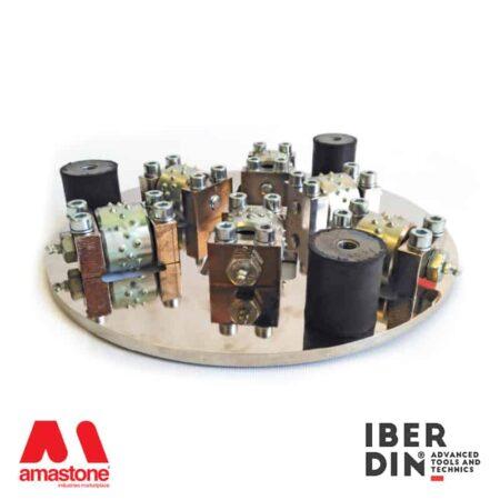 Bush-hammering plate - Ø300 mm - Iberdin