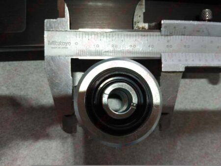 Iberdin - Bush-hammering roller dimensions