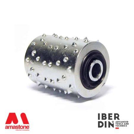 Bush hammering roller madrid - maxi - Iberdin