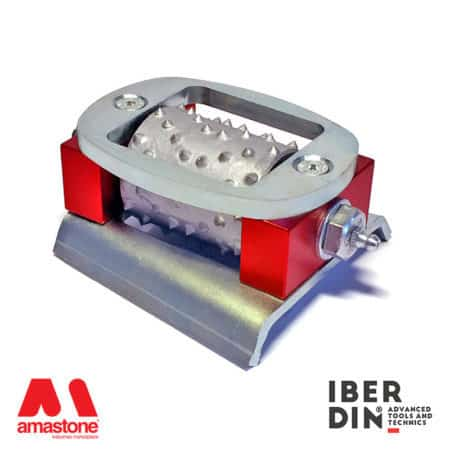 Frankfurt bush hammering roller maxi - Iberdin
