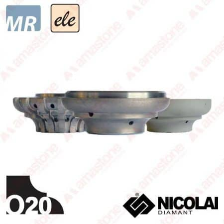 Nicolai - Electroplated Profile Wheels 60 - Shape O20