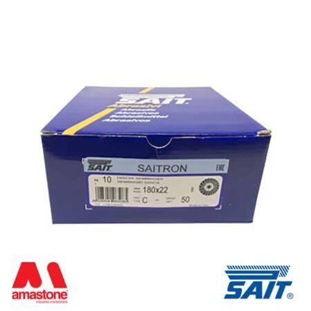 Abrasive semi-rigid discs on fibre – Saitron – Sait