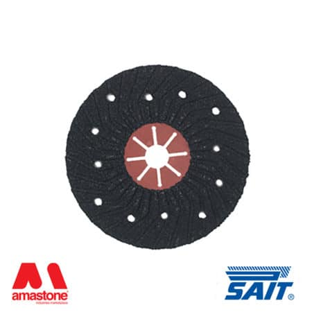 Abrasive semi-rigid discs on fibre – Saitron – Sait