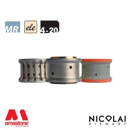 Electroplated Profile Wheels 60 - Shape 4-20 - Nicolai