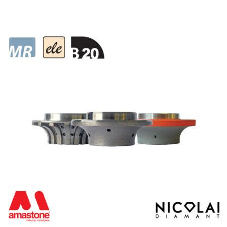 Electroplated Profile Wheels 60 - Shape B20 - Nicolai
