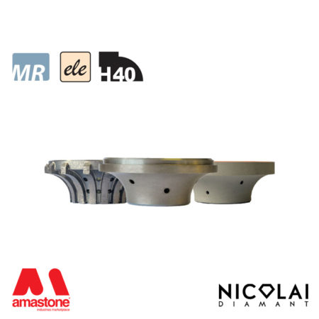 Electroplated Profile Wheels 60 - Shape H40 - Nicolai
