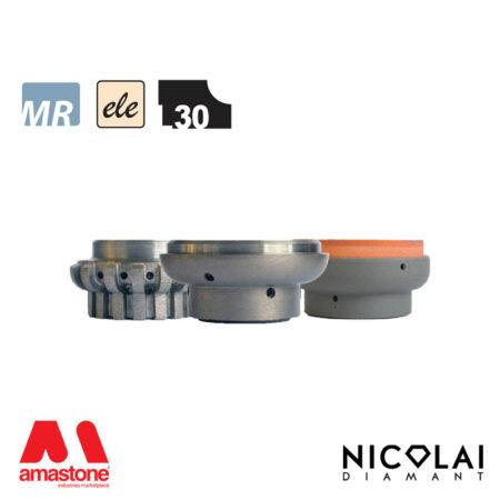 Electroplated Profile Wheels 60 - Shape L30 - Nicolai
